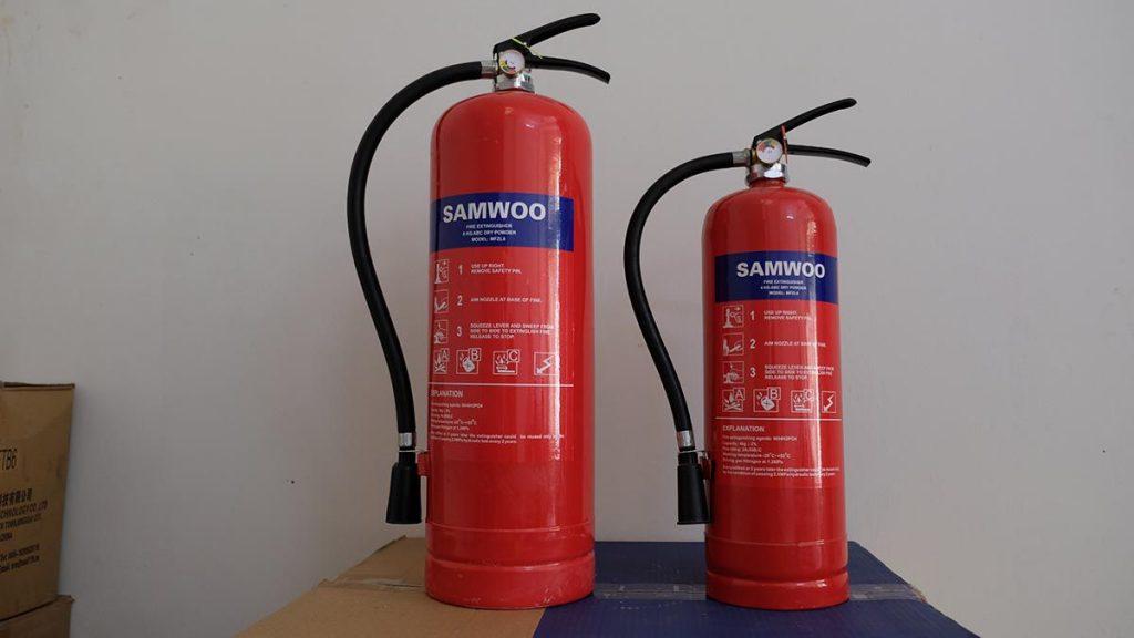 Hệ thống chữa cháy bằng bột khô
