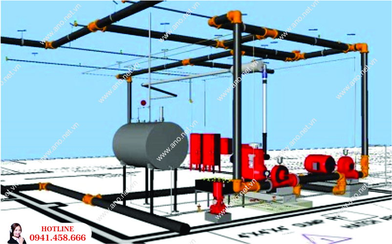 Thiết kế hệ thống PCCC tại Hải Dương