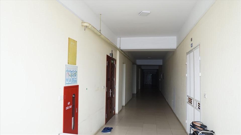 Khu chung cư không có hệ thống chữa cháy tự động tại chung cư Hải Dương