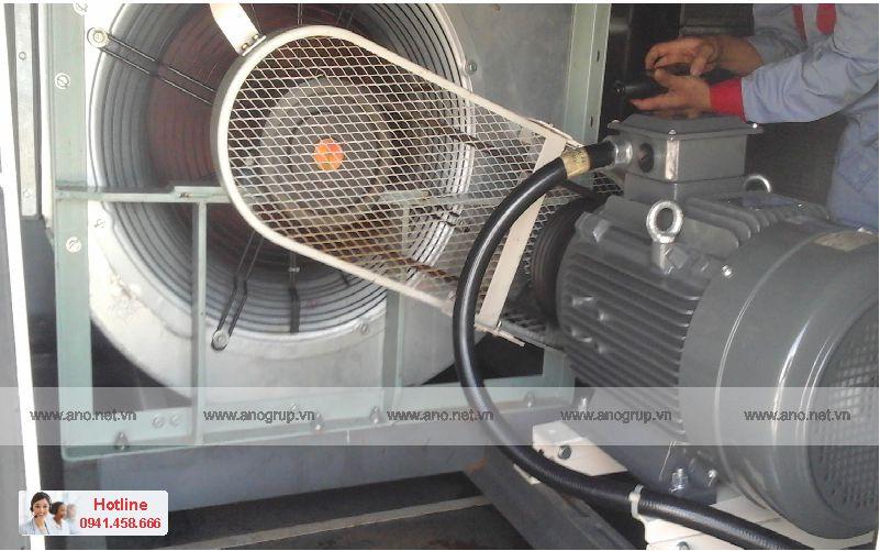 Bảo trì quạt thông gió